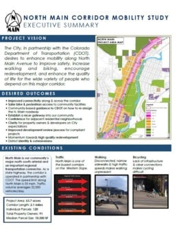 North Main Avenue Corridor Mobility Study_executive_summary