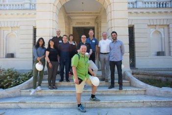 Membros dos Distritos Criativos visitam obra da Casa Firjan da Indústria Criativa