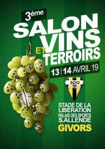 Salon de vins et terroirs, Givors Rugby @ Palais des sports Savaldor Allende