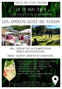 Apéro golf Tassin #1 : distrilux partenaire de l'événement. @ Golf de Tassin
