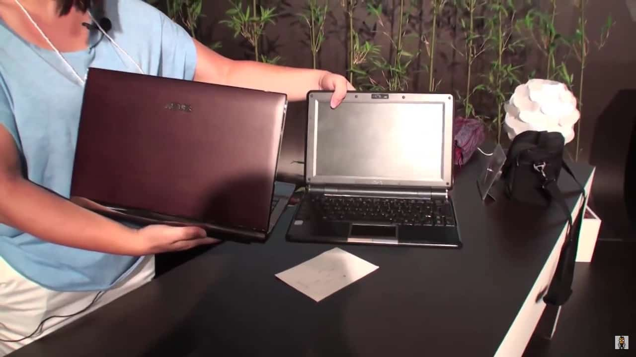 Look at the ASUS U33jc Bamboo Notebook