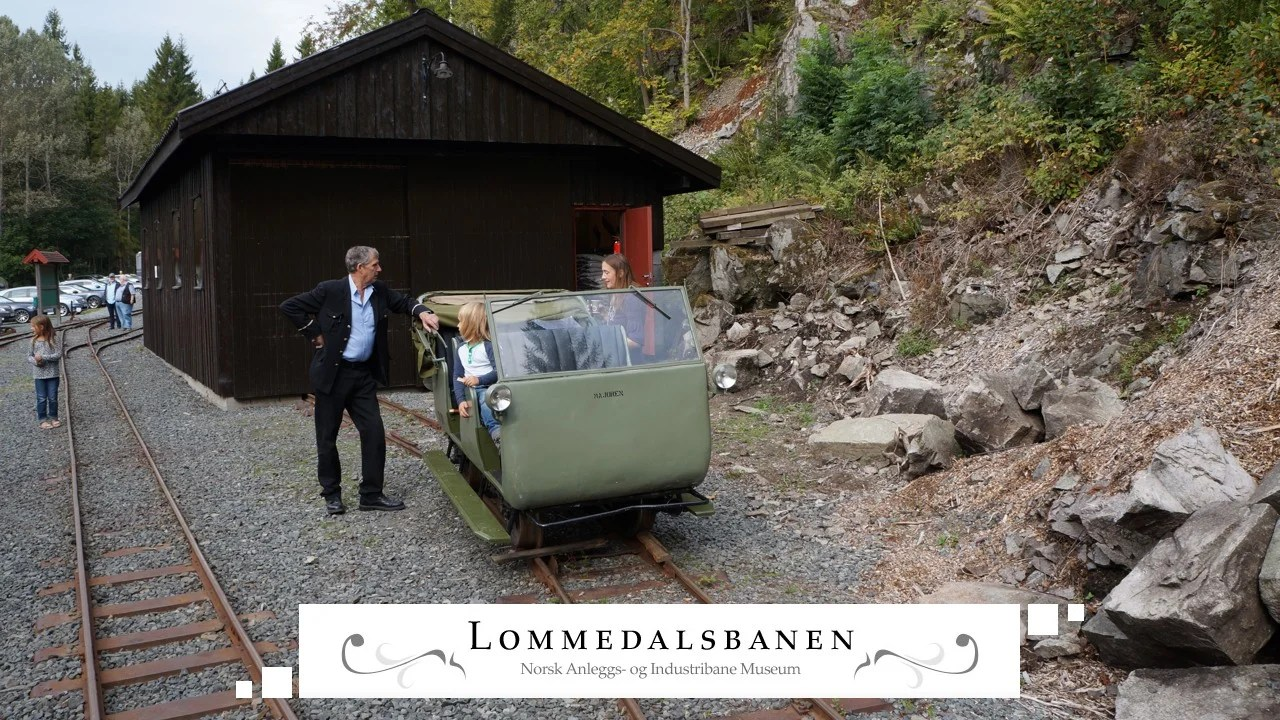 Lommedalsbanen many trains