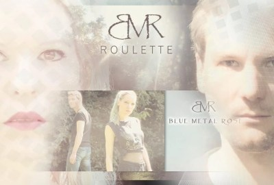 Blue Metal Rose Roulette Singel