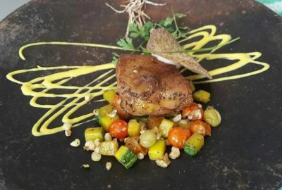 Amazing Duck with candied fruit Recipe
