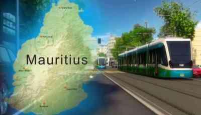 Light-Rail on Mauritius