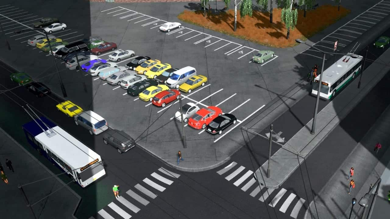Trolley Bus Returns to Cities Skylines