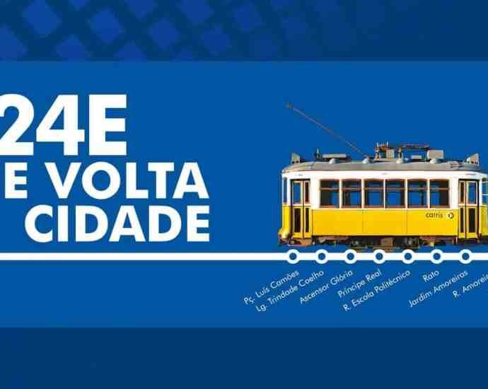 24E Heritage Tram Line Returns