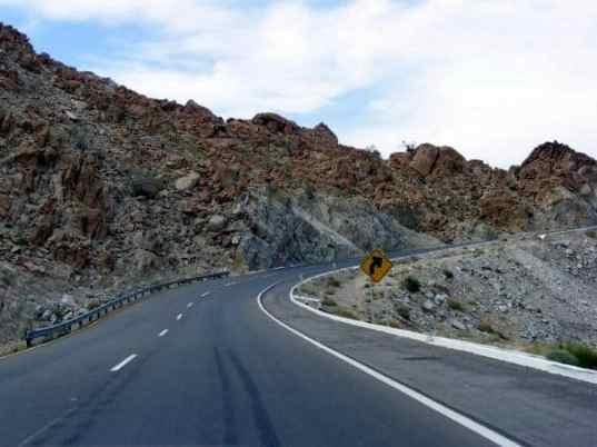 La Rumorosa Mountain range