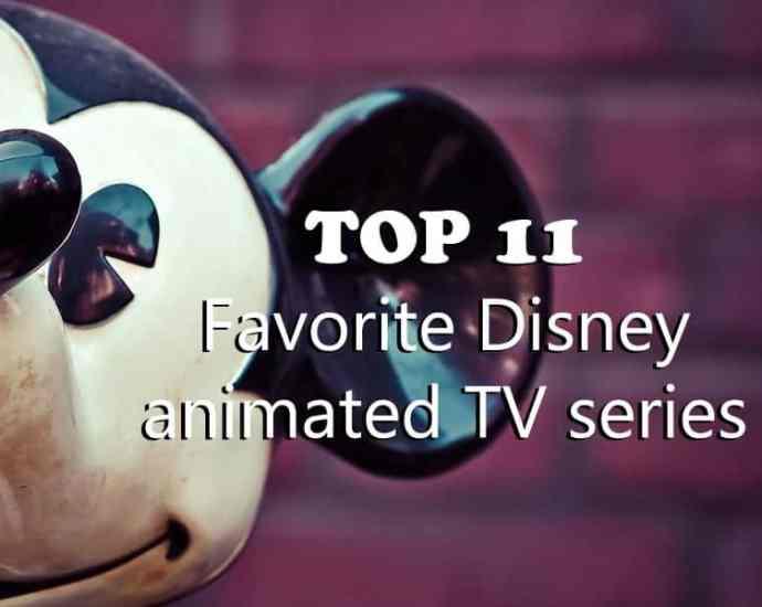 Favorite Disney animated TV series