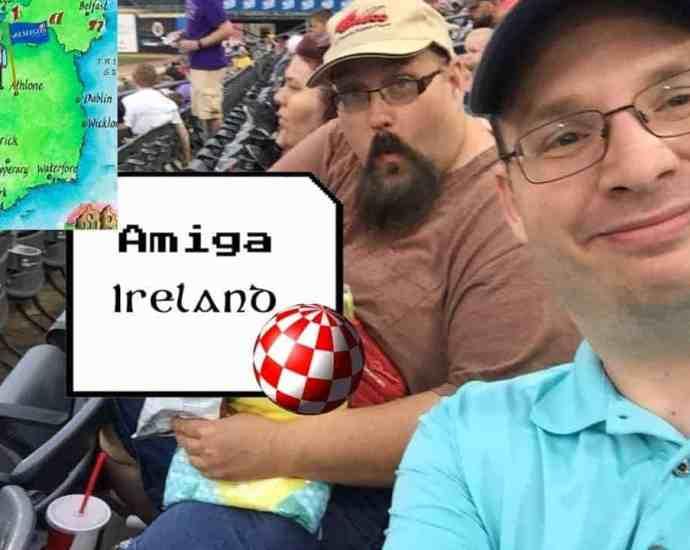 Voyage across the Atlantic from Wonderful West Virginia to Amiga Ireland