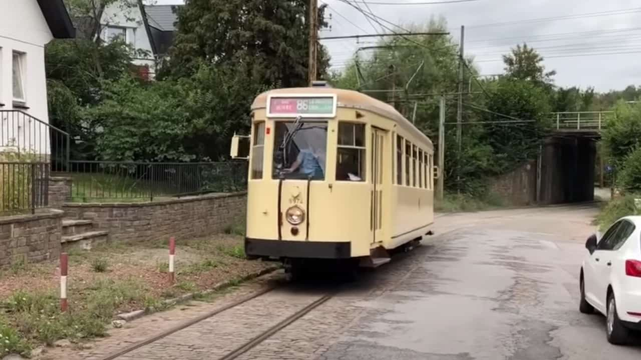 Take the Unknown Steam Tramway in Belgium