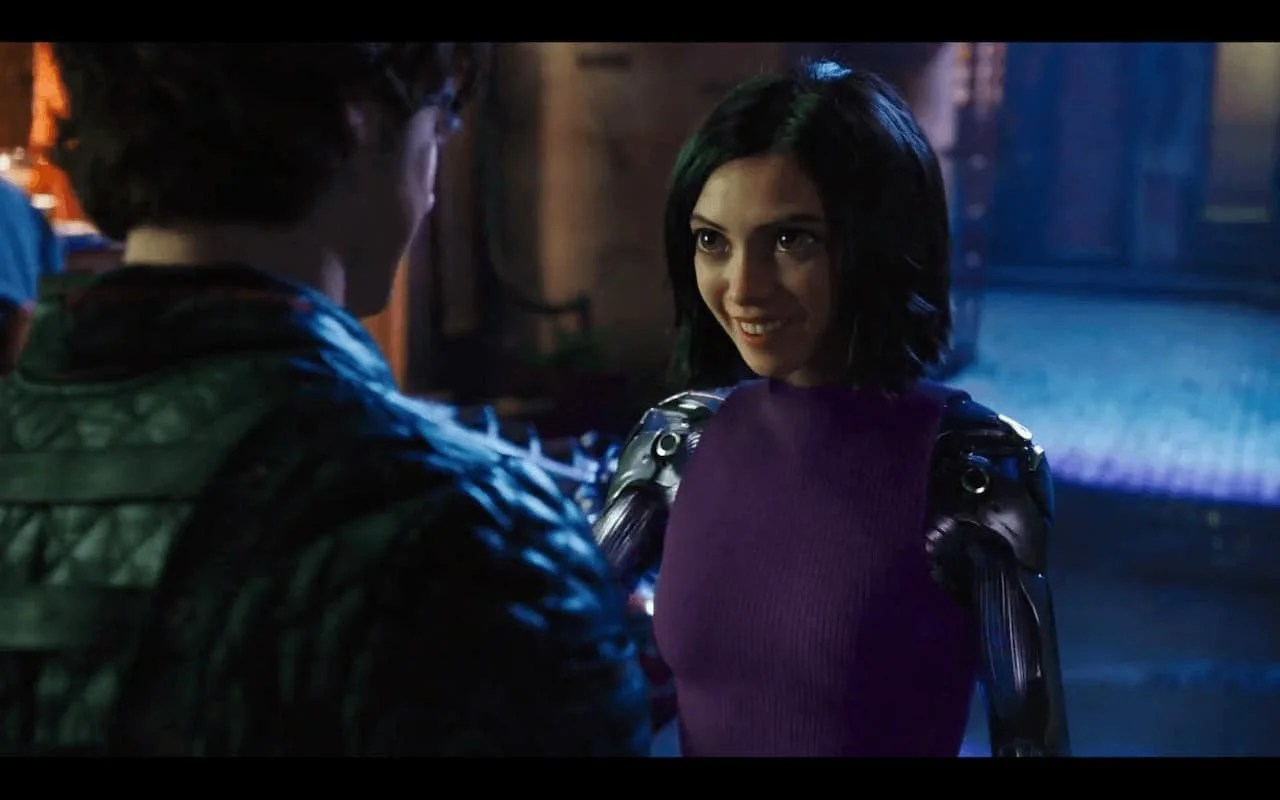 Alita Battle Angel movie shows that a Smile is Worth living for