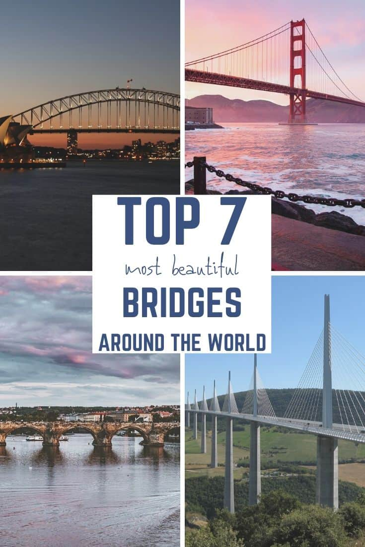 most beautiful bridges around the world, bridges in the world