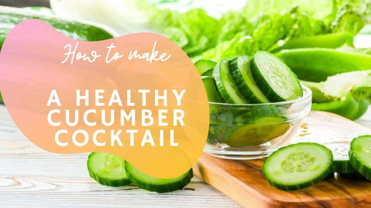 Try this yummy Cucumber summer drink recipe