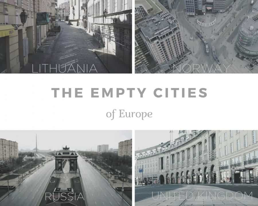 empty cities in Europe