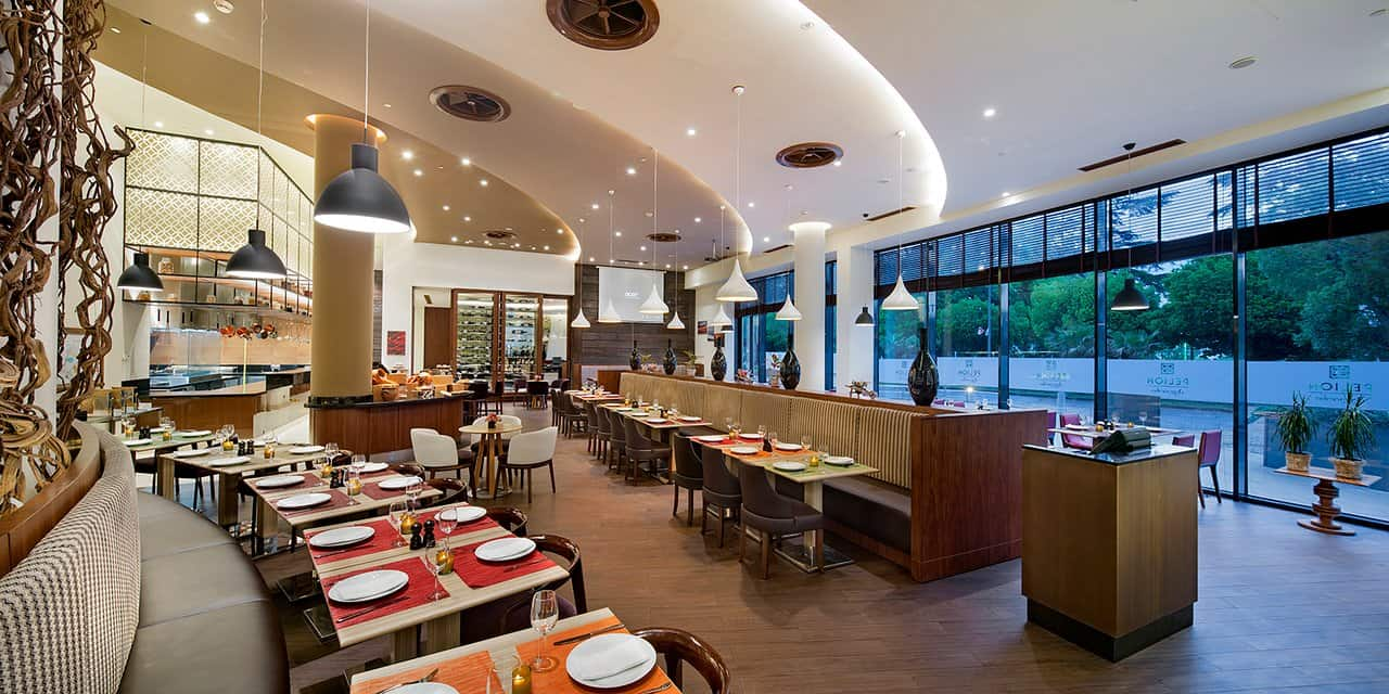 Pelion is one of the best eateries at Hilton Batumi