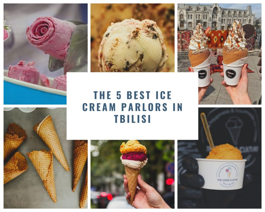 best ice cream parlors in Tbilisi