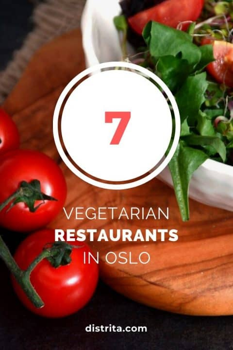 vegetarian eating places in oslo