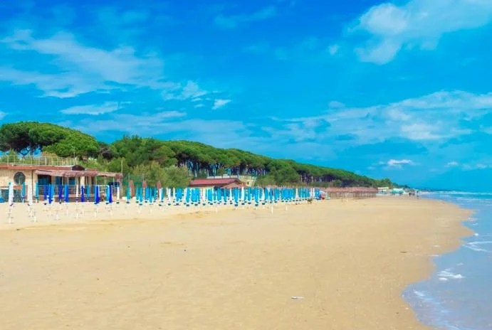Abruzzo beaches, Italy in the summer