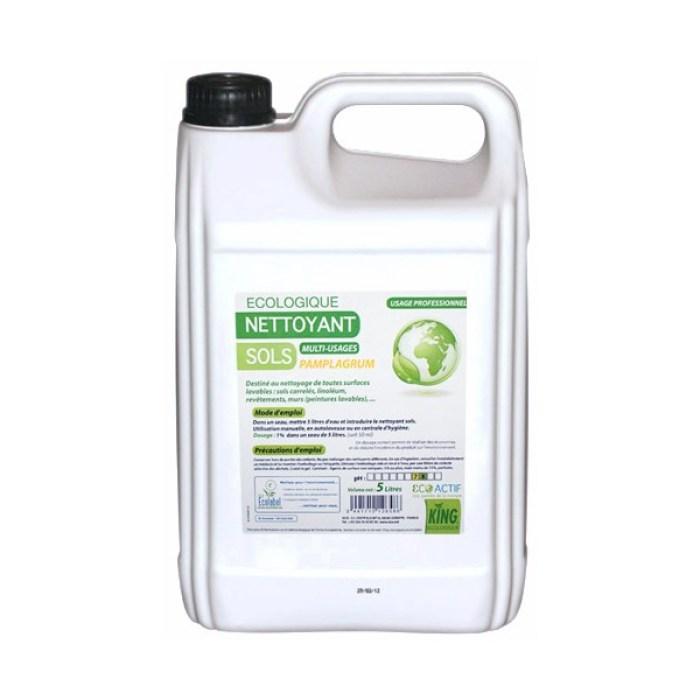 Ecolabel Nettoyant Multi-usages Fleurs d'Agrumes 5L
