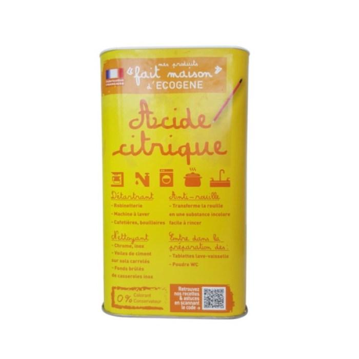 Acide citrique 1 kg Ecogène