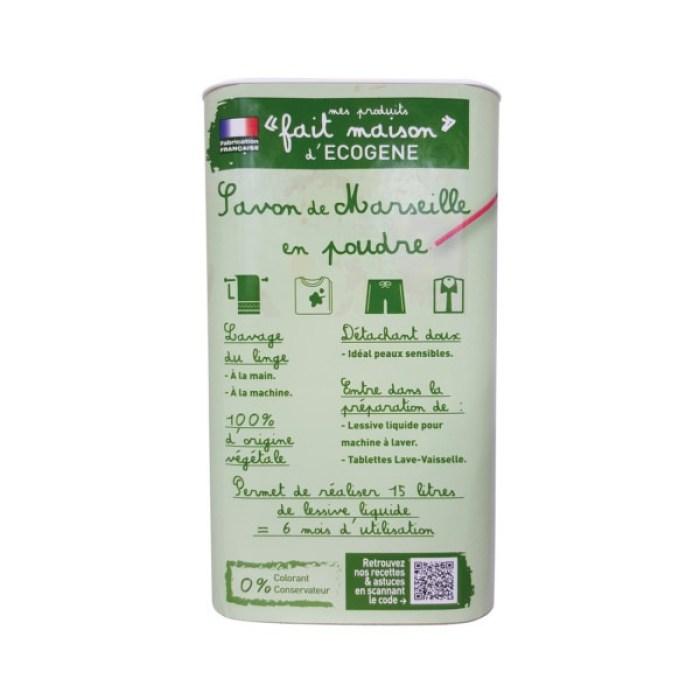 Savon de Marseille en poudre 750 g Ecogène