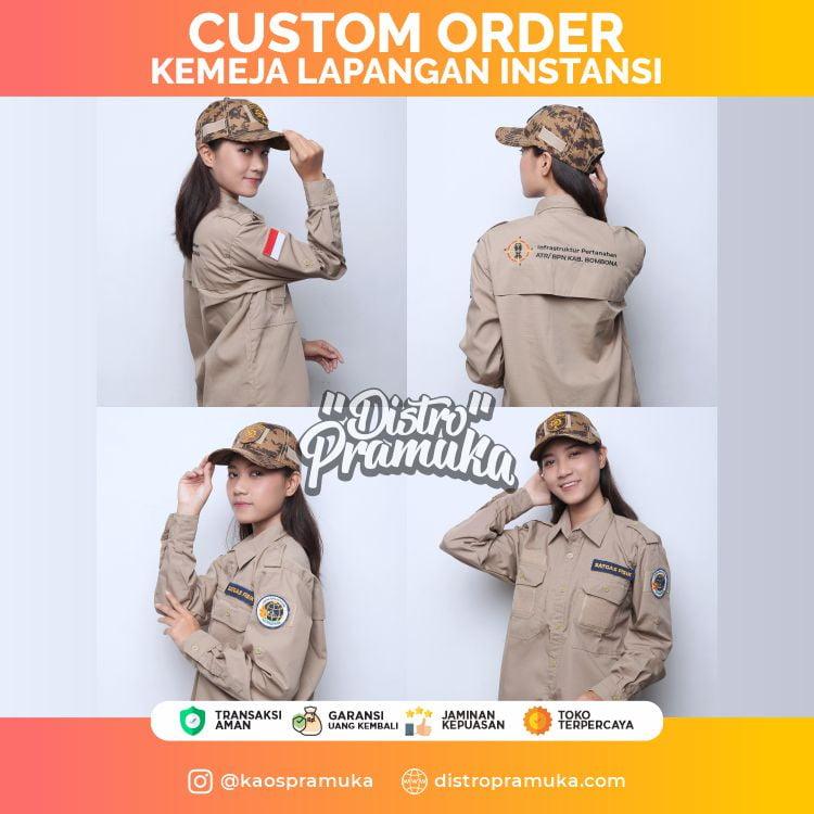 Custom Order Kemeja Instansi
