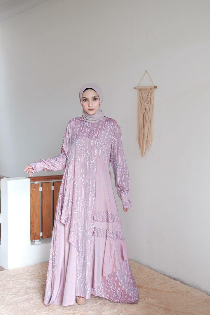 Catalia Batik - Calyta Dress Series 1 Pink Nude