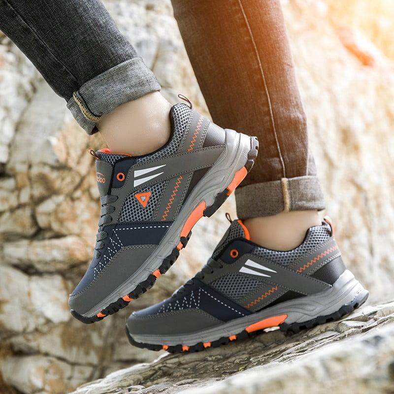 Sepatu Hiking Pria Sneakers Gunung Anti Air Outdoor Shoes MH203