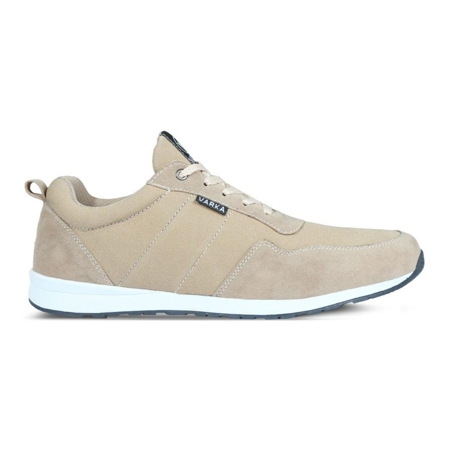 Sepatu Sneakers Pria V 4043 Brand Varka Krem