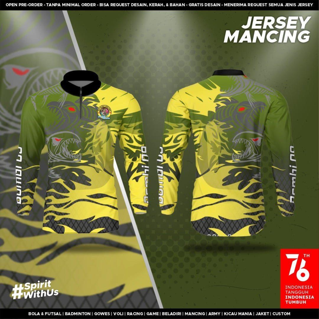 Buat Jersey Satuan Kaos Mancing
