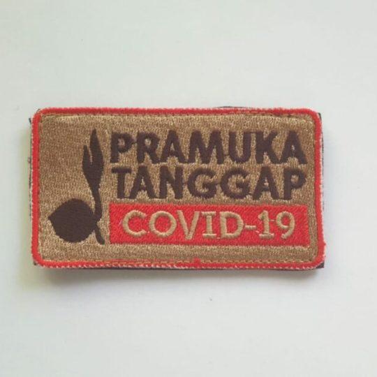Badge Pramuka Tanggap Covid-19