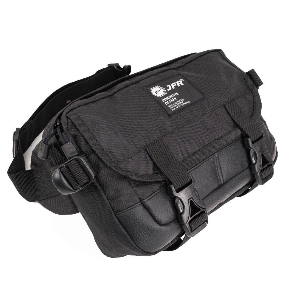 JFR Tas Pinggang Waist Bag Bahan Polyester JT11 Hitam