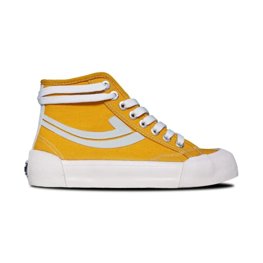 Sepatu Sneakers Johnson Galaxy Pro Highcut (HC) Yellow