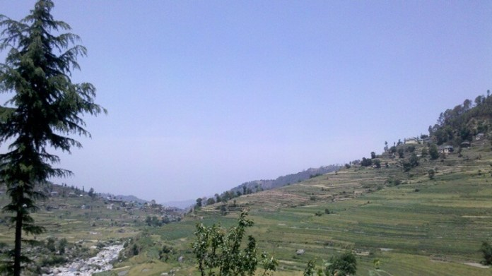 Jachh Village Jauni Valley Mandi HP
