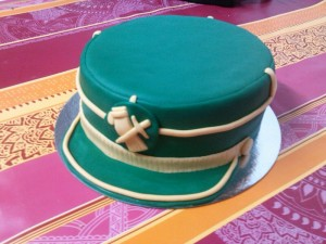 Tarta gorra Guardia civil