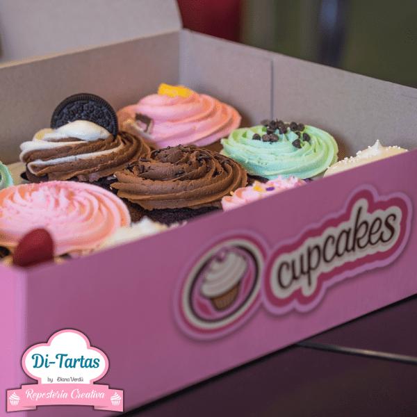 tienda caja cupcakes ditartas
