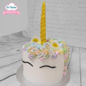 tarta unicornio tienda