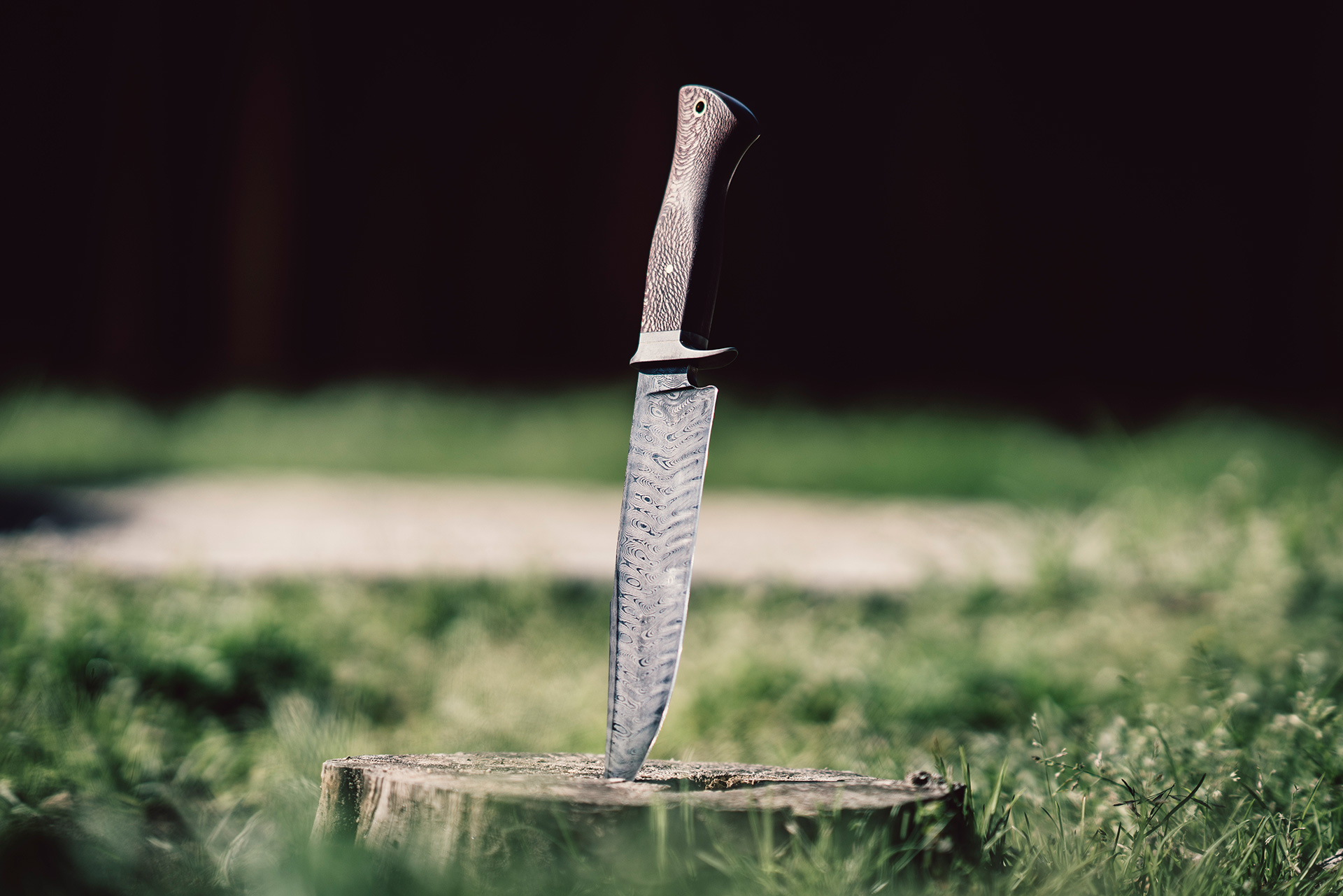 Product Photography Bowie Knife