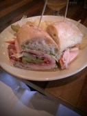 The mortadella sandwich at Olympic Provisions. Undoubtedly the best sandwich I have ever eaten.