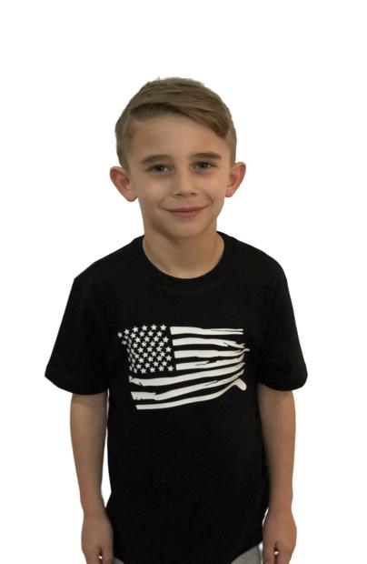 USA TRI Blend Youth shirt