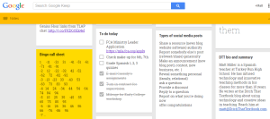 Google Keep. (Click for full-size image)