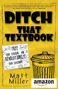 Ditch That Textbook paperback on Amazon