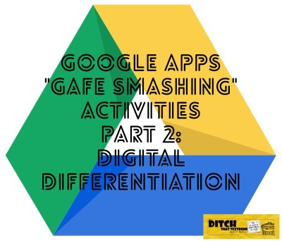 Google Apps gives teachers great opportunities to reach students at their own unique level. By smashing YouTube with other apps, great digital differentiation can happen.