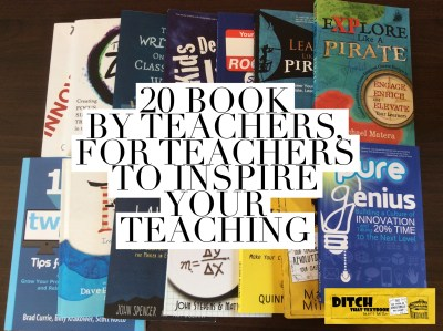 When teachers share their life's work with other teachers, students and schools flourish. Here are 20 books for teachers, by teachers. (Image by Matt Miller)
