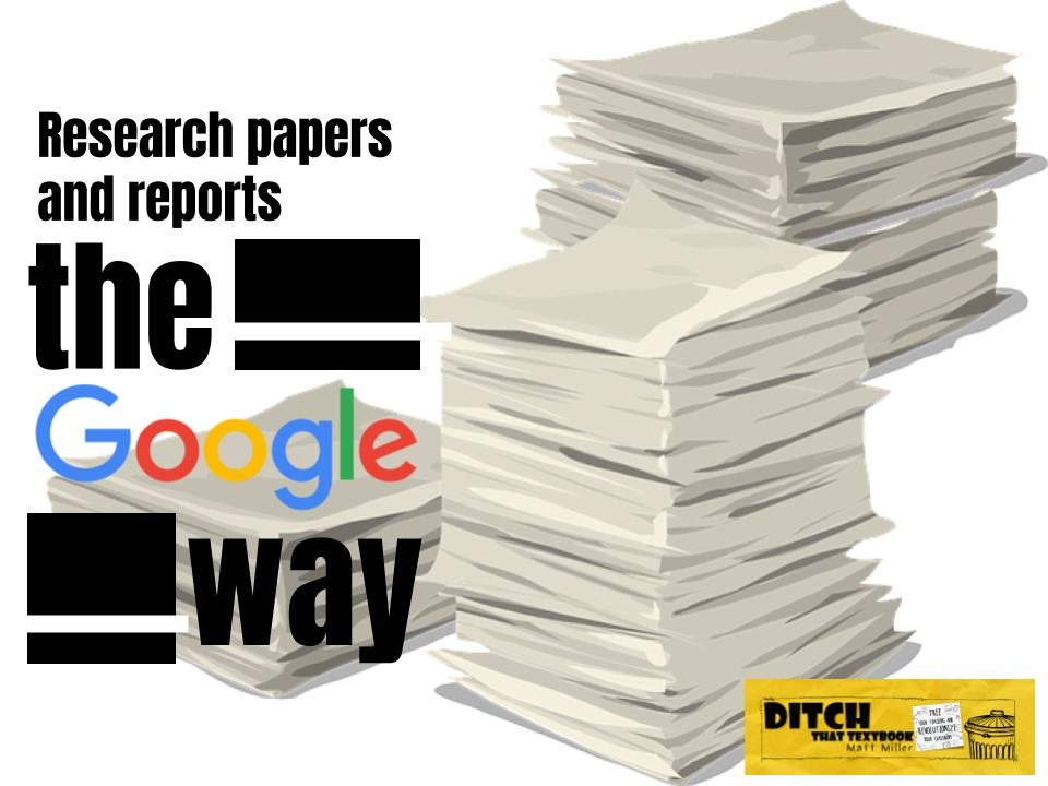 google map research paper Developing a research paper google maps developing a research paper google maps september 16, 2018 i'm over the word limit, i didn't do any referncing, and my source log isn't filled in but i do not care, the essay is written so oh well.
