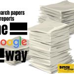 research reports papers google way blog image