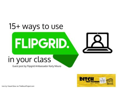 Bring the back row in class to the FRONT row! Flipgrid gives all students a voice with video. Here's how to use it in class.