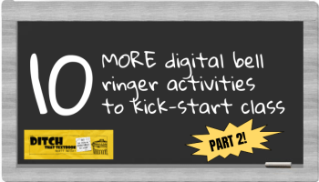 10 digital bell-ringer activities to kickstart class (Part 1