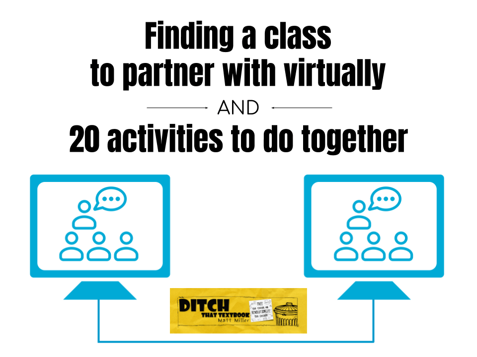 Finding a class to partner with virtually AND activities to